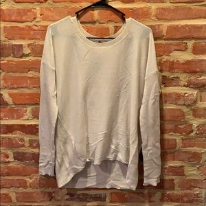 Sand colored lightweight sweater